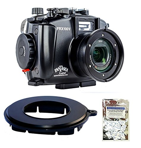 Fantasea FRX100 V Housing for Sony RX100 III/IV/V w/Line EyeDaptor F Series & Moisture Absorbers