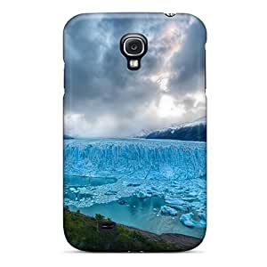 Premium Galaxy S4 Case - Protective Skin - High Quality For Blue Ice