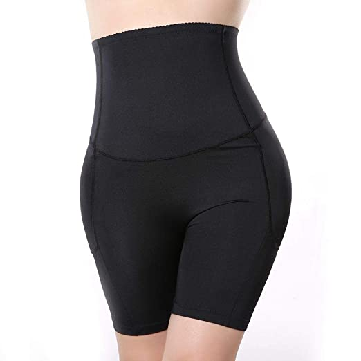 557f2d8a2c94 Image Unavailable. Image not available for. Color: AOBRITON Women High Waist  Padded Shaper Removable Pads Butt Lifter Control Panties Slimming Thigh  Tummy ...
