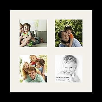 Amazon.com - ArtToFrames Collage Photo Frame Single Mat with 4 - 4x4 ...