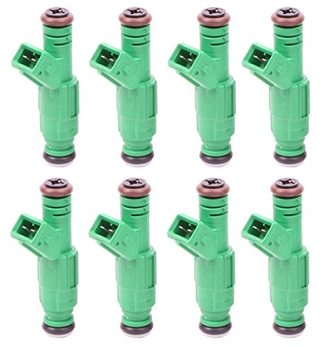 MOSTPLUS 42LB Fuel Injectors fits for TBI LT1 LS1 LS6 V8 EV1 Style 440cc (Set of 8) Replaces 0280150558 Lt1 Fuel Rail