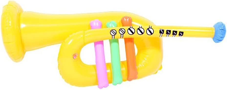 Inflatable Trumpet Yellow