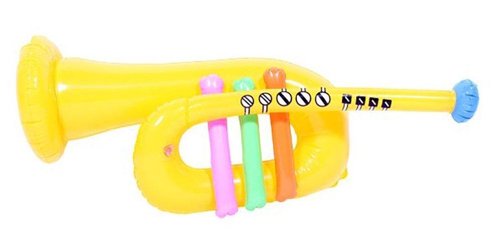 Partido inflable - amarillo Trompeta: Amazon.es: Juguetes y juegos