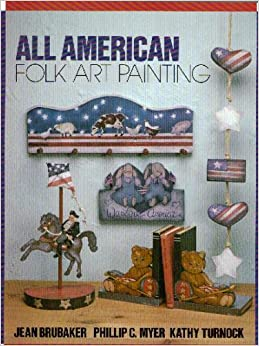 All American Folk Art Painting