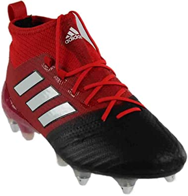 competitive price 8c08d 73a3f adidas Mens ACE 17.1 Primeknit SG Soccer Athletic Cleats