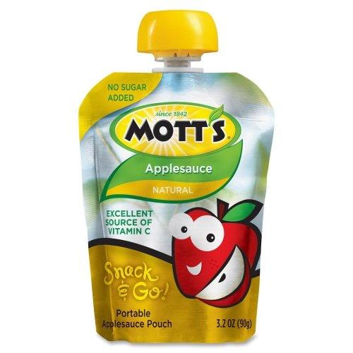 Wholesale CASE of 5 - Marjack Motts Snack & Go Applesauce...