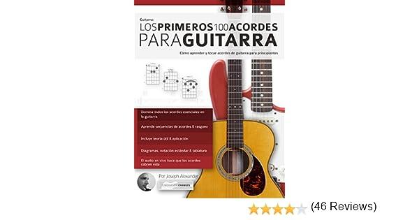 Guitarra: Los primeros 100 acordes para guitarra: Cómo aprender y ...