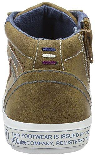 s.Oliver 45101, Zapatillas para Niños Marrón (COGNAC 305)