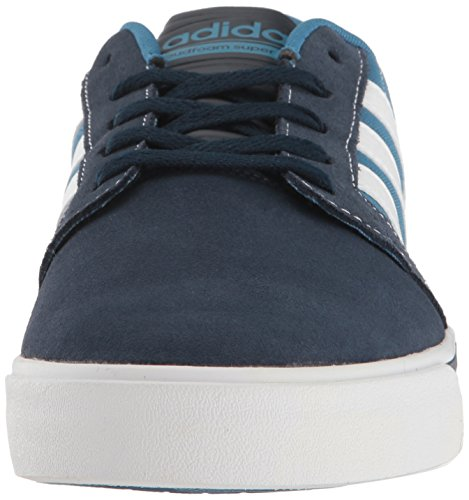 adidas Men's Cloudfoam Super Skate Fashion Sneakers Collegiate Navy/White/Blue clearance best prices discount codes really cheap ckHLa73n6G