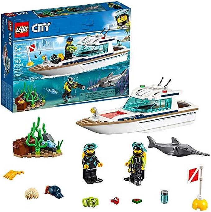 יאכטה צלילה 60139 LEGO City