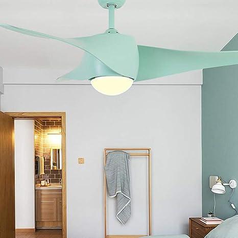 ChuanHan Ventiladores de Techo Lámparas para Luces de Araña Sala ...