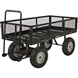 Strongway Heavy-Duty Jumbo Crate Wagon - 60in.L x 31 1/2in. 2,200-Lb. Capacity