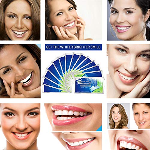 Professional Teeth Whitening Strip Whiten Tooth 3D Oral Care Dental Whitestrips Removes Coffee, Tea & Tobacco Stains From Teeth No Sensitivity Home Tooth Bleaching Elastic Gels Whitener Kits 28 Strips from TeethWhite