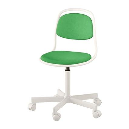 Wondrous Amazon Com Ikea Orfjall Childs Desk Chair White Vissle Forskolin Free Trial Chair Design Images Forskolin Free Trialorg