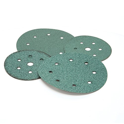3M 00513 Green Corps Hookit 6'' 60E Grit Regalite Disc by 3M (Image #1)