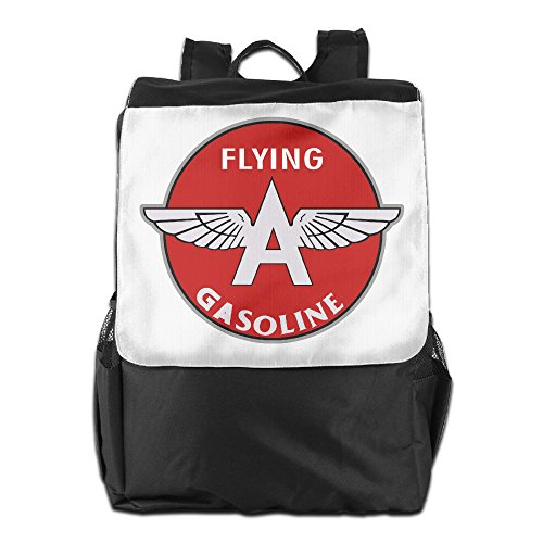 Price comparison product image Flying A Gasoline Crystal Symbol Polyester Sport Backpack Bags