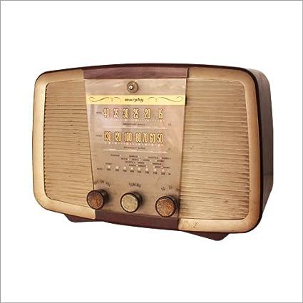 Buy Jamal Overseas Home Decorative Vintage Old Murphy Radio Shell