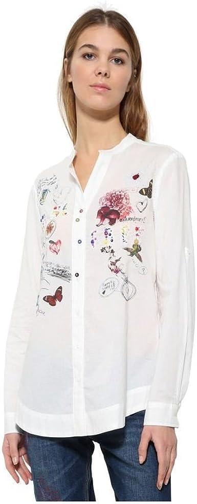Desigual - Camisas - Manga larga - para mujer Blanco blanco ...