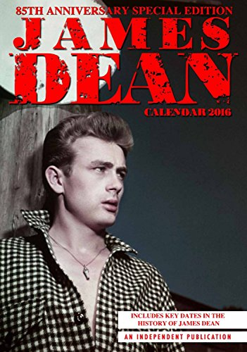 James Dean Calendar - 2016 Wall Calendars - Celebrity Calendars - Monthly Wall Calendars by Dream (2015 James Dean Calendar compare prices)