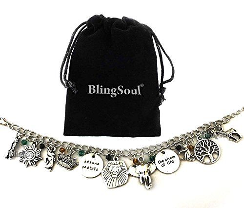 - Blingsoul Movie and Game Premium Jewelry Merchandise (Lion Charm King Bracelet)