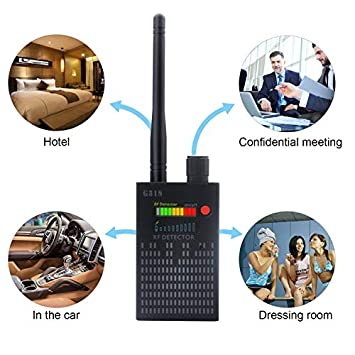 Newest Version Dooreemee Anti Spy RF Signal Detector Bug Detector GPS Tracker Wireless Camera Amplification Ultra-high Sensitivity GSM Device Finder 2 X 0.8 X 3.3 , 4.1oz, Handheld