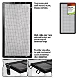 ENERGY SAVERS UNLIMITED,INC. - SCREEN COVER METAL BLK 20X10