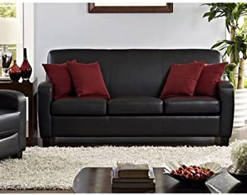 Mainstays Faux Leather Sofa