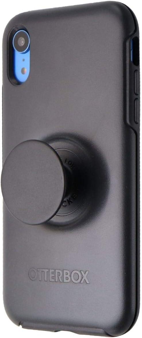 OtterBox + Pop Symmetry Series Hybrid Case for Apple iPhone XR - Black