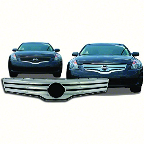 Bully  GI-41 Triple Chrome Plated ABS Snap-in Imposter Grille Overlay, 2 Piece ()