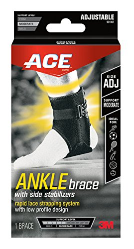 Ace Ankle Support with Adjustable Side Stabilizers