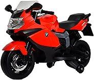 Moto BMW Elétrica 6V Bandeirante K1300 Vermelho