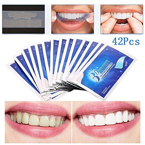 SUN RDPP Teeth Whitening Strip, Dental Care Kits, Elastic Advanced Tooth Whitening Gel Bleaching System Cleaning Teeth 14 x 3 pcs