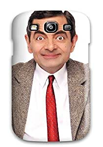 New Rowan Atkinson As Bean Tpu Case Cover, Anti-scratch CaseyKBrown Phone Case For Galaxy S3