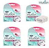 Schick Intuition Shaving Razor Refill Cartridge, 3 count, (4...