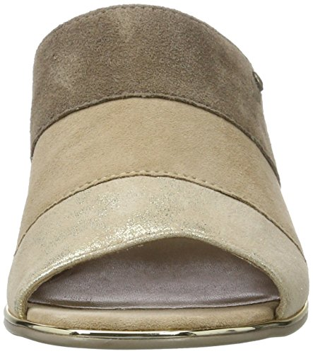 Be Natural 27203, Mules para Mujer Beige (Pepper/lt Gold 357)