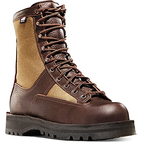 Danner Women's Sierra 8'' Brown 200G Vibram Sole Hunting Boots | Gore-TEX (GTX) Waterproof Hiking Leather Boots | Footbed Ortholite Hunter Modern Battlefield Combat Boot (8 M)