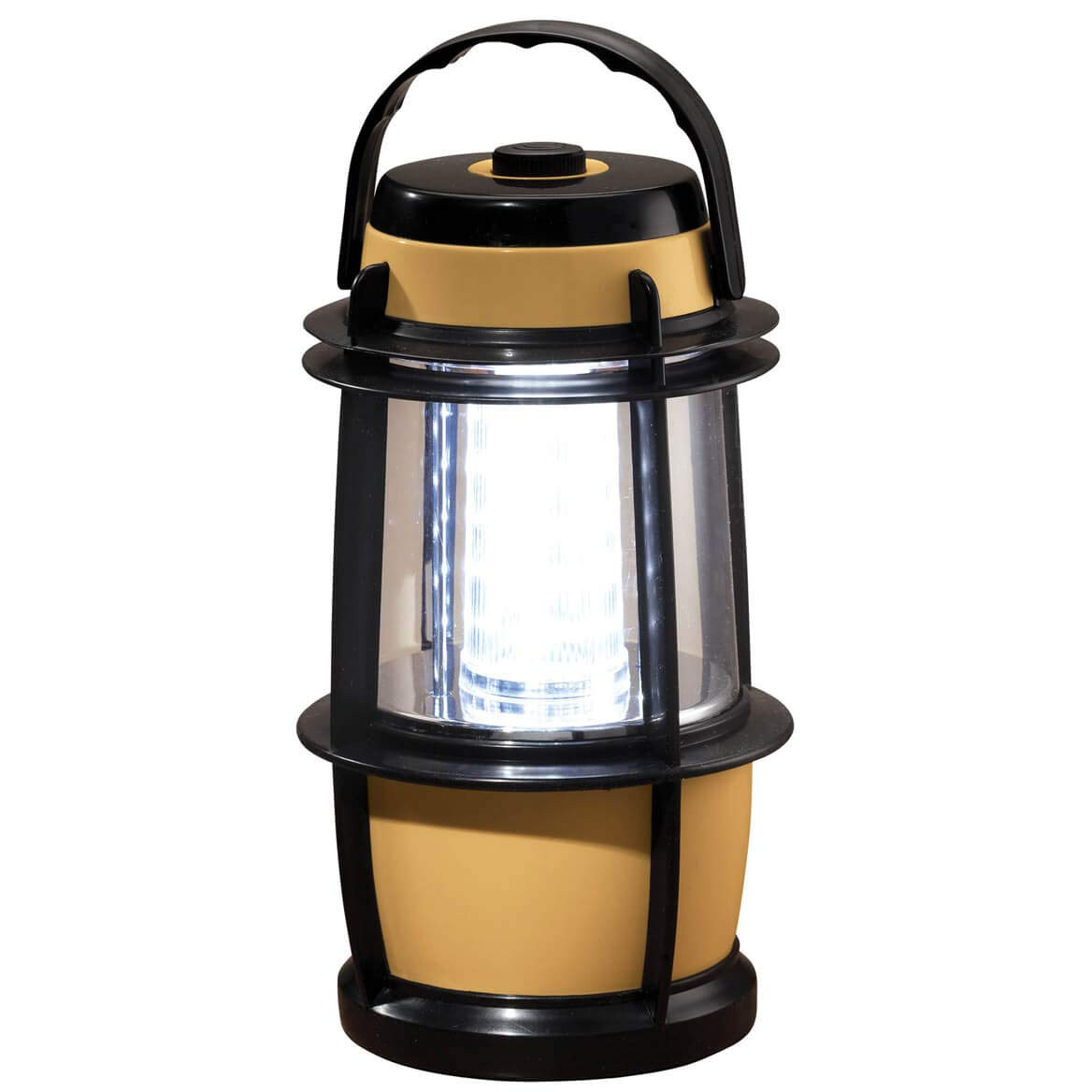 Battery Operated Bright LED Lantern Light w//Built-in Dimmer Switch 4.75 Dia x 9H