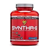 BSN SYNTHA-6 Protein Powder, Whey Protein, Micellar Casein, Milk Protein Isolate, Flavor: Vanilla Ice Cream, 48 Servings