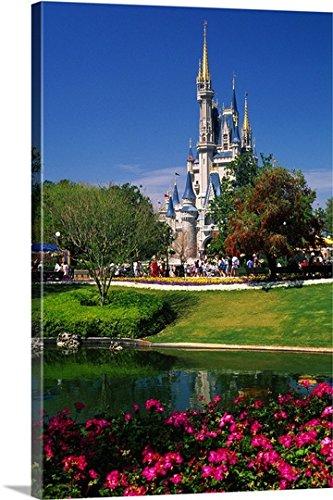 Guido Cozzi Premium Thick-Wrap Canvas Wall Art Print entitled Florida, Orlando, Disney World, Magic Kingdom, Cinderella Castle Cinderella Castle Magic Kingdom