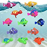 Best Baby Einstein Baby Tub Toys - JollySweets 12PCS Display Box Packed Wind Up Swimming Review