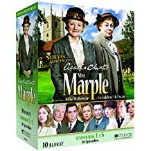 Agatha Christie's Miss Marple (Seasons 1-5) - 10-Disc Box Set ( The Murder at the Vicarage / 4:50 from Paddington / The Body in the Library / A Murder Is Announce