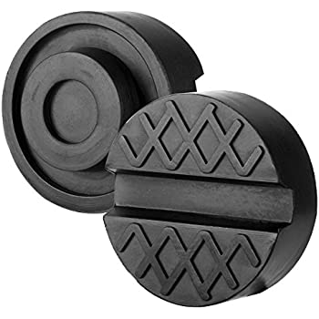 Amazon Com Lanyifang 2 Pack Slotted Jack Pad Black Rubber