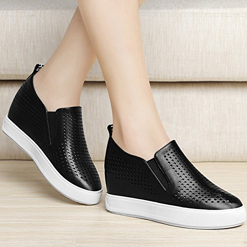 Tide The Women Spring KPHY Black In Thin Sponge Soled Shoes New Thick Spring Match Shoes Spring All Autumn And In And 1EfnfqH