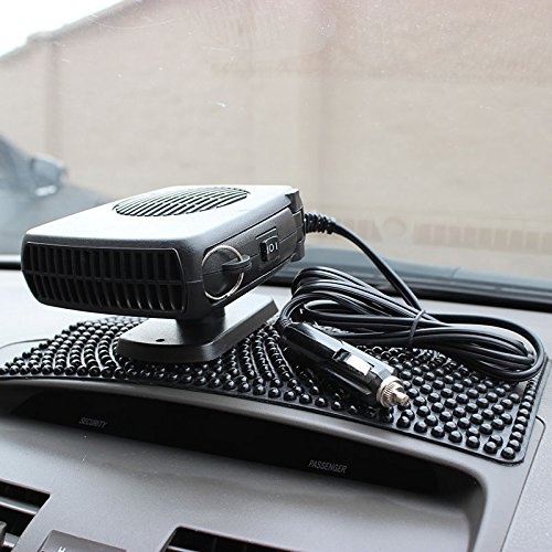 LanLan 2 in 1 Auto Car Heater and Fan Heating Cooling Fan Defroster Demister 150W with Swing-Out Handle Car Vehicle Auto Heating .with Swing-out
