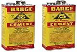 Barge ZwgwRg All Purpose Cement, 1 Gallon, Neutral (2 Pack)