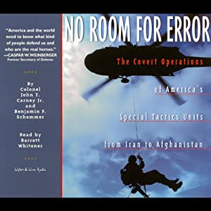 No Room for Error Audiobook