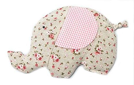 CARREDANA Saco térmico para bebés de Semillas de Trigo y Semillas de Lavanda con Forma de