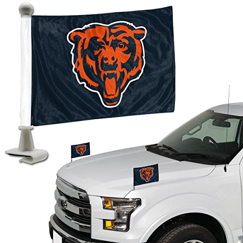 ProMark NFL Chicago Bears Flag Set 2Piece Ambassador Stylechicago Bears Flag Set 2Piece Ambassador Style, Team Color, One Size