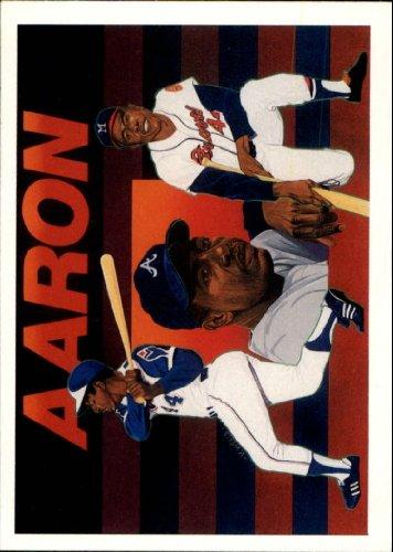 1991 Upper Deck Aaron Heroes Baseball Card #27 Hank Aaron