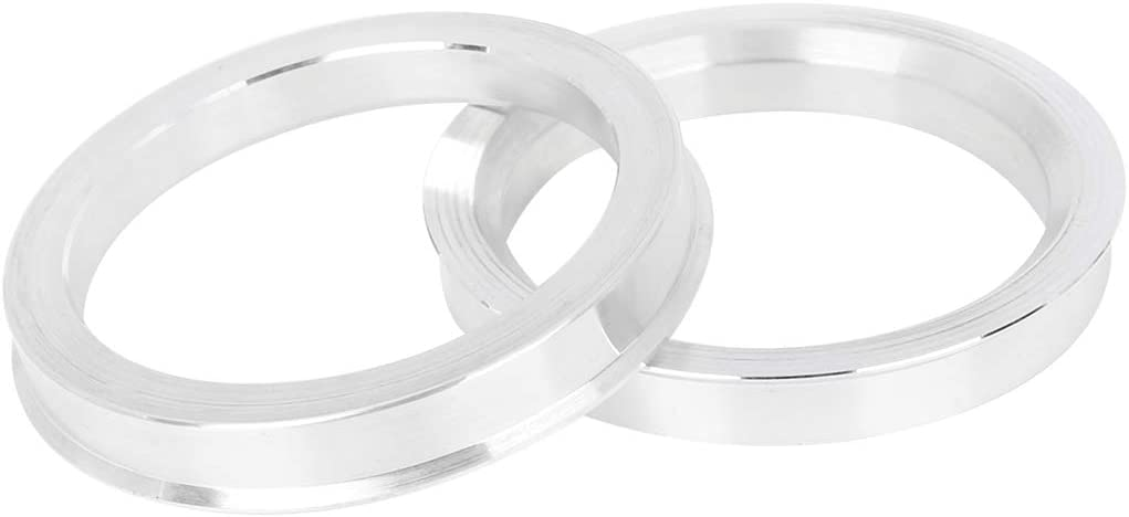 X AUTOHAUX 4pcs 67.1 to 54.1 mm Aluminium Alloy Car Hub Centric Rings Wheel Bore Spacer